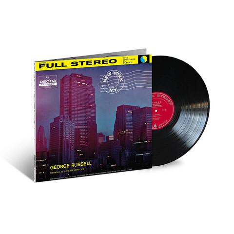 √New York. N.Y. (Acoustic Sounds) von George Russell - LP jetzt im JazzEcho Shop