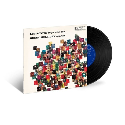 Lee Konitz Plays With The Gerry Mulligan Quartet by Lee Konitz, Gerry Mulligan - lp - shop now at JazzEcho store