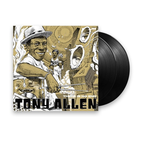 √There Is No End (Excl. 2LP Collectors Edition) von Tony Allen - 2LP jetzt im JazzEcho Shop
