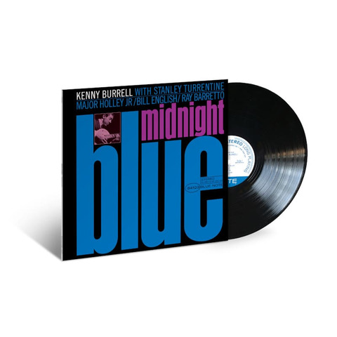Midnight Blue by Kenny Burrell - lp - shop now at JazzEcho store