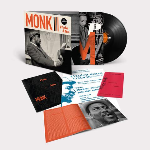 √The Palo Alto High School Concert (1968) von Thelonious Monk - LP jetzt im JazzEcho Shop
