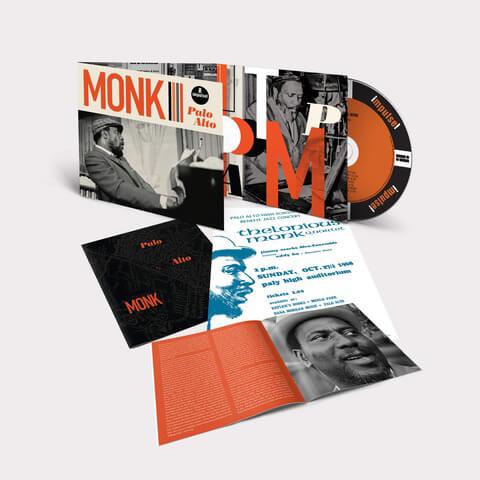 √The Palo Alto High School Concert (1968) von Thelonious Monk - CD jetzt im JazzEcho Shop