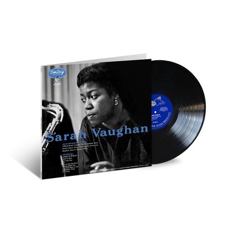 √Sarah Vaughan (Acoustic Sounds) von Sarah Vaughan & Clifford Brown - LP jetzt im JazzEcho Shop