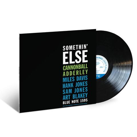 Somethin Else von Cannonball Adderley - LP jetzt im JazzEcho Shop