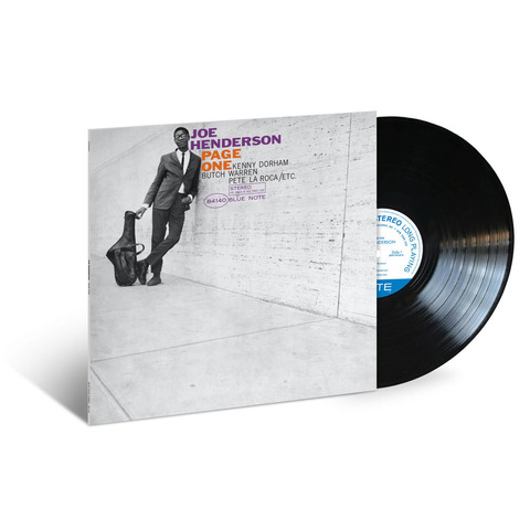 Page One von Joe Henderson - LP jetzt im JazzEcho Shop