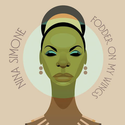 Fodder On My Wings (LP Re-Issue) von Nina Simone - LP jetzt im JazzEcho Shop