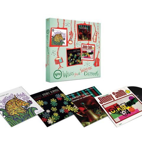 Verve Wishes You A Swinging Christmas! (4LP Boxset) von Various Artists - LP-Boxset jetzt im JazzEcho Shop
